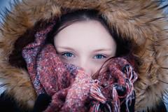 little princess (Margot in Love) Tags: anne niederwã¼rschnitz sachsen deutschland portrait winter face gesicht women frau teenager