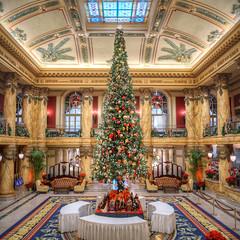 Jefferson Christmas (Sky Noir) Tags: holidays highlight elegance historic hotel jefferson christmas tree richmond va virginia rva landmark architecture building nikon d500 vertorama