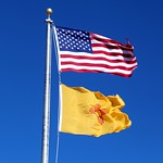 Flags Fluttering in Strong Winds (Union County, New Mexico) thumbnail