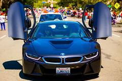 50th Annual Piedmont 4th of July Parade, Piedmont, California (Thomas Hawk) Tags: 4thofjuly america bmw bmwi8 california eastbay fourthofjuly holiday independanceday july4 july4th piedmont usa unitedstates unitedstatesofamerica auto automobile car electriccar i8 parade fav10