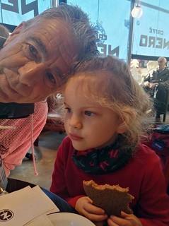 Granddad Photo Bombing