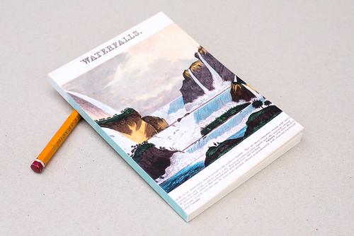 Carnet // 10x15 // Waterfalls