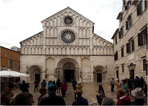 1135-1136- CATEDRAL DE SANTA ANASTASIA -ZADAR- CROACIA-