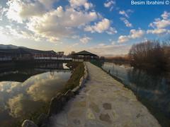 Beautiful view (BesimIbrahimii) Tags: mitrovice mitrovica kosovo kosova ibri nature outdoor river sky cloud water reflection gopr gopro gopro3