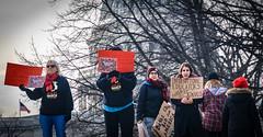 2017.01.29 Oppose Betsy DeVos Protest, Washington, DC USA 00202