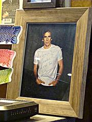 Ben Stiller (knightbefore_99) Tags: gaya sushi japanese food restaurant bainbridge benstiller photo autograph like lunch lougheed vancouver burnaby fan actor