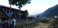P1100965 This GH is right at the road head - Reserve Jeeps can be taken from here directly to Phedi or Pokhara (ks_bluechip) Tags: nepal trek dec2016 annapurna abc mbc landruk tolga pitamdeorali pothana