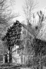 Old barn (Poliuszko) Tags: barn old transylvania turda gorge hasdate romania cheile turzii rocks bw