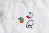 90/100 - New Patches (AndreaDrops) Tags: 100happydays canon60d 50mm14 beautifullight white naturallight patches cactus headphone unicorn forever21 cute