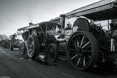 The Three Burrells... (Ben Matthews1992) Tags: stotfold christmas roadrun 2016 bedfordshire uk britain british england vehicle transport haulage old vintage historic preserved preservation classic steam engine traction hr7754 3633 7nhp lord kitchener chivers 1922 showmans road loco majestic cr6645 3890 4000 exmayor wt8606 tuby herberts
