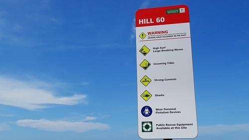 Hill 60 beach