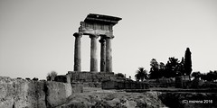 What's Left (martinasirena) Tags: dorictemple doric temple agrigento architecture sicily italy dioscuritemple art ruins
