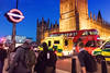 Urban Street (villeah) Tags: unitedkingdom urban england london street people architecture undergroundsign doubledeckerbus thepalaceofwestminster bigben traffic ambulance gb