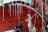 Frozen Wheel (LouLou'sLoves) Tags: outdoors ice icicle wheel mn