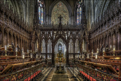 Ely Cathedral 9 (Darwinsgift) Tags: ely cathederal cambridgeshire hdr nikkor 24mm pce f35 tilt shift interior nikon d810 architecture norman gothic cathedral