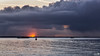 Heavy clouds during sunset (BraCom (Bram)) Tags: bracom sunset sun zon zonsondergang cloud wolk shower buien boat ship schip boot buoy boei water reflection spiegeling ooltgensplaat volkerak goereeoverflakkee zuidholland nederland southholland netherlands holland canoneos5dmkiii widescreen canon 169 canonef24105mm bramvanbroekhoven nl