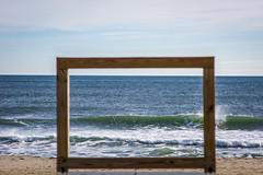 framed (primemundo) Tags: outdoor landscape share coast shore seaside beach frame framed wave waves ocean sky oceansize newjersey splash