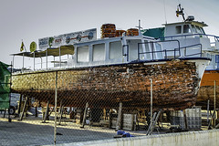 Reparacion (ibzsierra) Tags: ibiza eivissa baleares canon 7d 24105isusm barco boat vessel ship bateau reparacion varadero calafatear