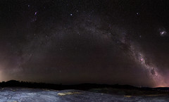 The Other Side - back end of the Milky Way over Sullivan's Rock, Western Australia (inefekt69) Tags: panorama stitched mosaic ptgui milky way cosmology southernhemisphere cosmos southern westernaustralia australia dslr long exposure rural nightphotography nikon stars astronomy space galaxy astrophotography outdoor milkyway ancient sky 11mm 50mm d5100 landscape orion nebula etacarinae carina largemagellaniccloud canopus coalsacknebula sirius