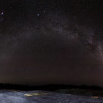 The Other Side - back end of the Milky Way over Sullivan's Rock, Western Australia thumbnail