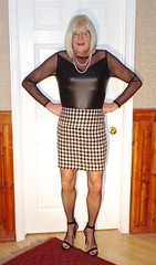 Check mate 2 (donnacd) Tags: sissy tgirl clit clitty tgurl jewels dressing crossdress crossdresser cd travesti transgenre xdresser crossdressing feminization tranny tv ts feminized domina donna red dress scarf heels gold crossed legs pumps shoes panties thong polka dots white blouse earrings hair black stockings tights bra fishnet corset necklace collar he she look 易装癖 シーメール 性転換 第三性 跨性别 ミスターレディ