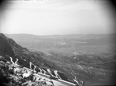 jugoslavia negtives 1952 holiday (foundin_a_attic) Tags: jugoslavia negtives 1952 holiday coach views kotor montenegro serpentine hairpin bends