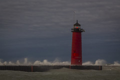 smoke on the water (olsonj) Tags: lighthouse lakemichgan