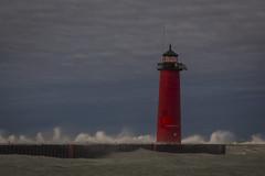 smoke on the water (olsonj) Tags: lighthouse lakemichgan