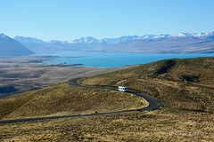 Mt John Observatory, Lake Tekapo, MacKenzie Country, NZ (flyingkiwigirl) Tags: lake john mt country observatory mackenzie tekapo
