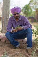 Thoughts (VikramDeep) Tags: india colors portraits canon beard photography 50mm moustache posers turban sikh f18 swag pse rajasthan peple sardaar kennethcolereaction eos550d