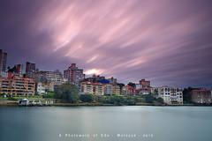 KirriBilli (edokurniawan) Tags: travel sky cloud sunrise long fuji slow sydney australia slowshutter shutter residential kirribilli xt1 motoyuk