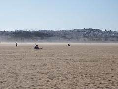 P6012157 (lnewman333) Tags: ocean africa sea people beach sand wind northafrica morocco sandstorm maroc maghreb gusty plage tangier tanger straitofgibraltar plagemunicipale tingis