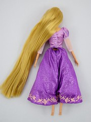 2015 Rapunzel Classic 12'' Doll - Disney Store Purchase - Deboxing - Removed From Backing - Lying Down - Full Rear View (drj1828) Tags: us doll princess rapunzel purchase disneystore 12inch tangled posable 2015 deboxing productinformation disneyprincessclassicdollcollection