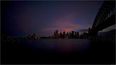 """Blue & Pink Dusk"" Milsons Point, Sydney, Australia (August 2015) (Kommie) Tags: longexposure bridge sunset house point big opera harbour tripod sydney australia filter r lee fujifilm fujinon f4 milsons ois xt1 1024mm"