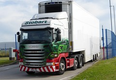 H6826 - PO14 VDL (Cammies Transport Photography) Tags: road truck hannah tesco lorry eddie lydia supermarkets desoto scania esl widnes vdl stobart eddiestobart r440 po14 h6826 po14vdl