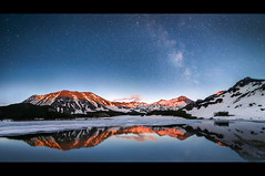 Pirin/Bulgaria (Vilian Raychev) Tags: light sunset summer sky panorama cloud mountain lake snow nature water colors rock way stars landscape star milk minolta outdoor sony formation bulgaria filter lee nd gradient alpha milkyway 1735 pirin a850 km1735 dslra850 ilce7 laea4 7 alphaforumnet