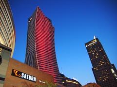 Skyskrapers at The new city, Warzsawa!