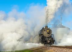 Good Morning Fox Lake! (kdmadore) Tags: steamlocomotive steam soo1003 soo train railroad wisconsinsouthern wsor mikado sooline steamengine