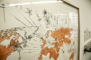 A Map Showing the Home Country of Each Man Held at the Guantánamo Bay Detention Center