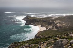Cape of Good Hope... (Yin*Yang) Tags: landscape outdoor cape good hope town south africa shore coast atlantic ocean water sea cliff seaside wave rock ridge beach
