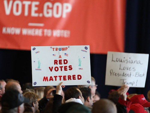 "Trump ""Red Votes Mattered"" LAGOP GOTVR D by tammy anthony baker, on Flickr"