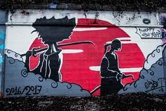 """streetfighter"" (nelly_tran_photography) Tags: streetart streetcast streetfotografie zürich graffity 2017"