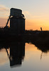 Wallerscote new year 04 jan 17 (Shaun the grime lover) Tags: demolition derelict industrial reflection sunset water winter wallerscote northwich cheshire island soda ash works river weaver navigation canal