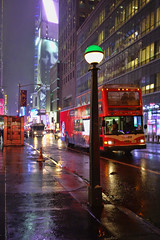 42nd Street (nyperson) Tags: newyorkcity night bus timessquare