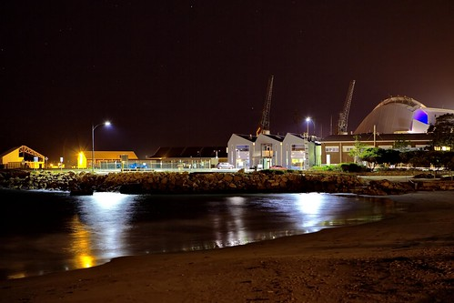 Fremantle at night