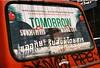 Tomorrow (35mm) (jcbkk1956) Tags: bangkok thailand thonglo street bus minolta xd7 analog manualfocus film 35mm 50mmf17 fujicolour200 tomorrow sukhumvit worldtrekker graffiti