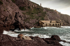 43 (gmouret92) Tags: fuji x100t sardaigne sardegna italie italy nebida ruins ruine mine
