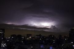 Furia (Nikafka) Tags: airbus sky night niche cielo rayos thunder lightning rain lluvia atmosphere city ciudad fury furia