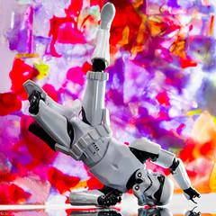 Breakdancing Stormtrooper (alex2k5) Tags: stilllife studiophotography macro actionfigures toys actionfigure sony toy sonya7 sonyalpha a7