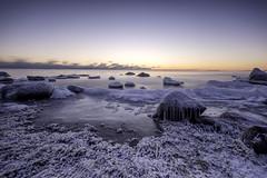 Sun settin in -25 degrees. (kasper.nyman) Tags: red baltic nikon d7100 1224mmf4 finland helsinki winter